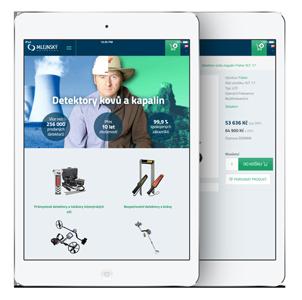 Mobilní design webu