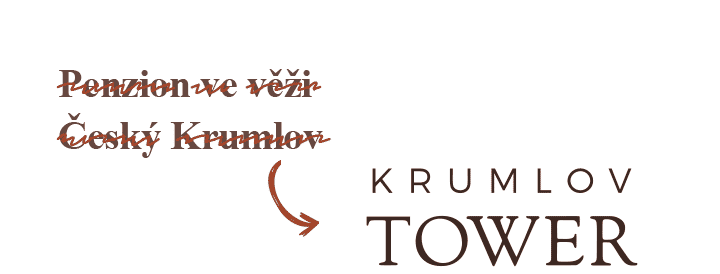 Změna jména Penzionu ve věži na KrumlovTower.com