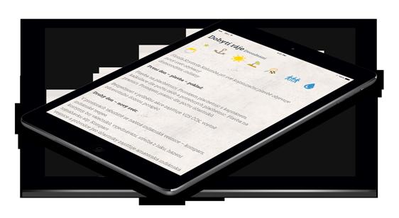 Lipenak.cz na iPadu