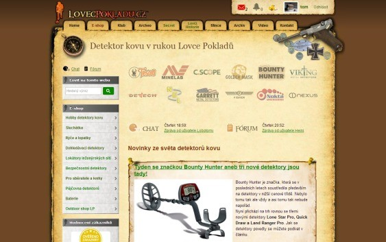 LovecPokladu.cz