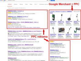 PPC reklama - ukázka