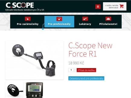 CScope.cz tablet