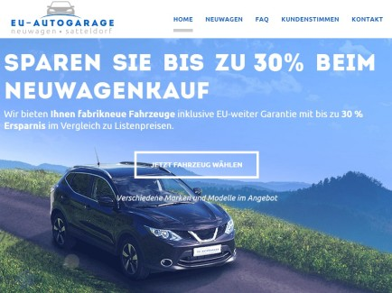 EU Autogarage tablet