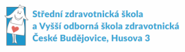 Logo SZŠ a VOŠ České Budějovice
