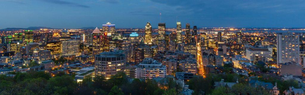 Montréal z Mont Royal