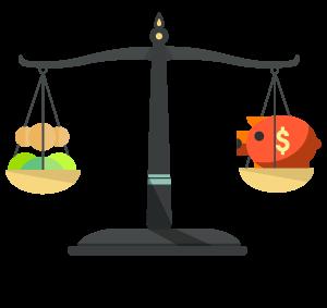 Váhy PPC - efektivita vs. výkon